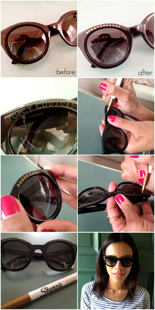 Creative Ways To Decorate Your Sunglasses
