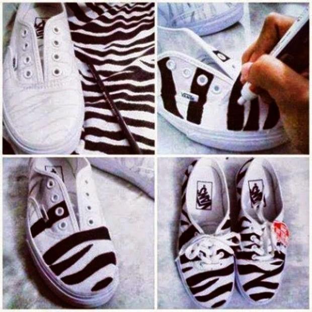 DIY Shoes Ideas -fashionbeautynews 1