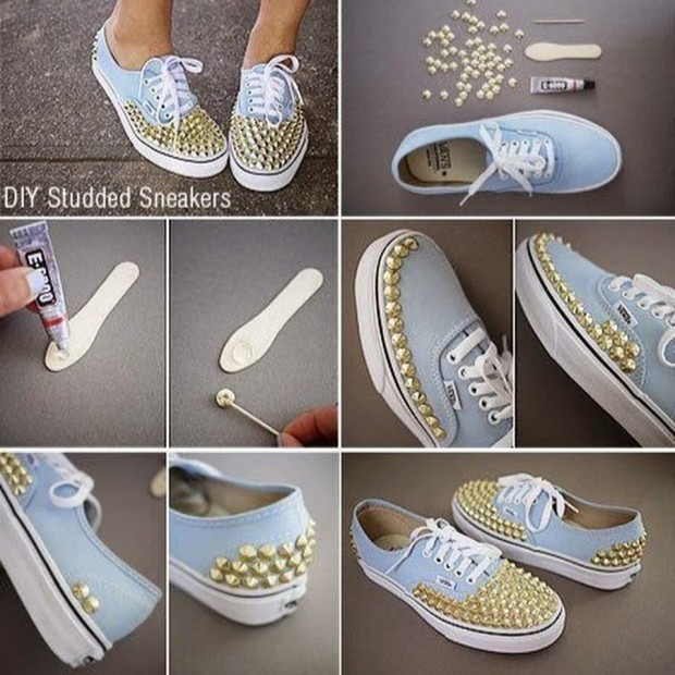 DIY Shoes Ideas -fashionbeautynews 2