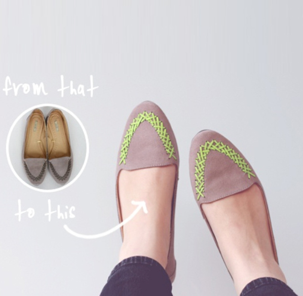 DIY Shoes Ideas -fashionbeautynews 3