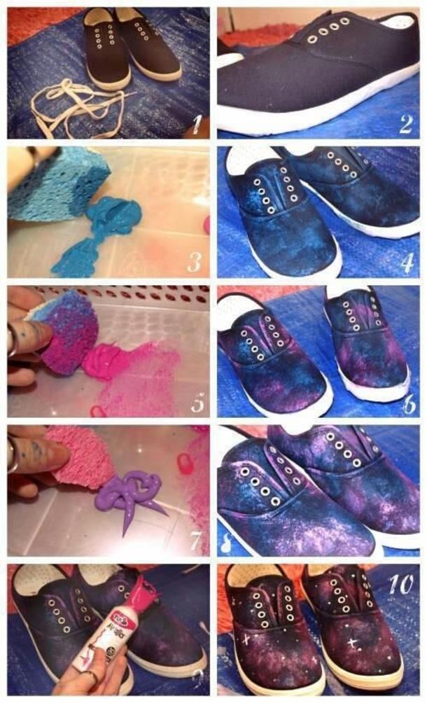 DIY Shoes Ideas -fashionbeautynews 5