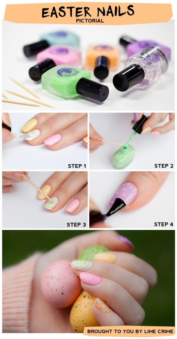 Elegant-Easter-Nail-Art-Tutorials-For-Beginners-