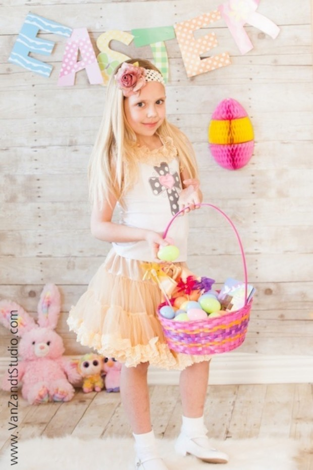 Girls-Easter-Applique-Dress