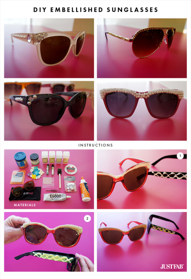 JustFab-DIY-embellished-sunglasses
