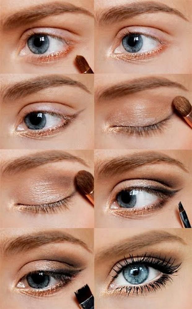 Pretty-blue-eyes-makeup