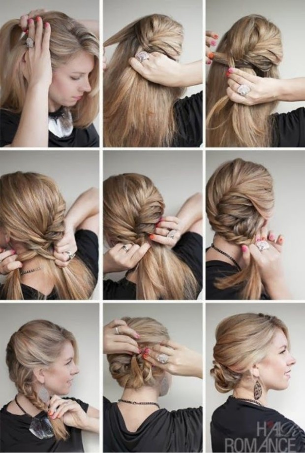 Side-braided-hairstyle