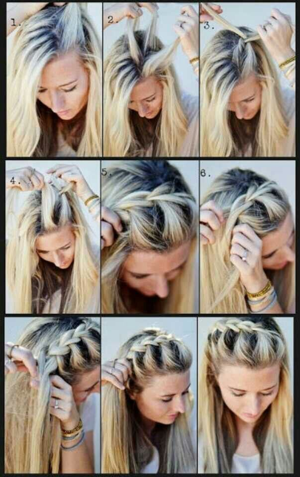 Tutorial-of-French-Braid