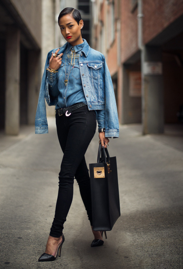 What to Wear with a Denim Jacket 3