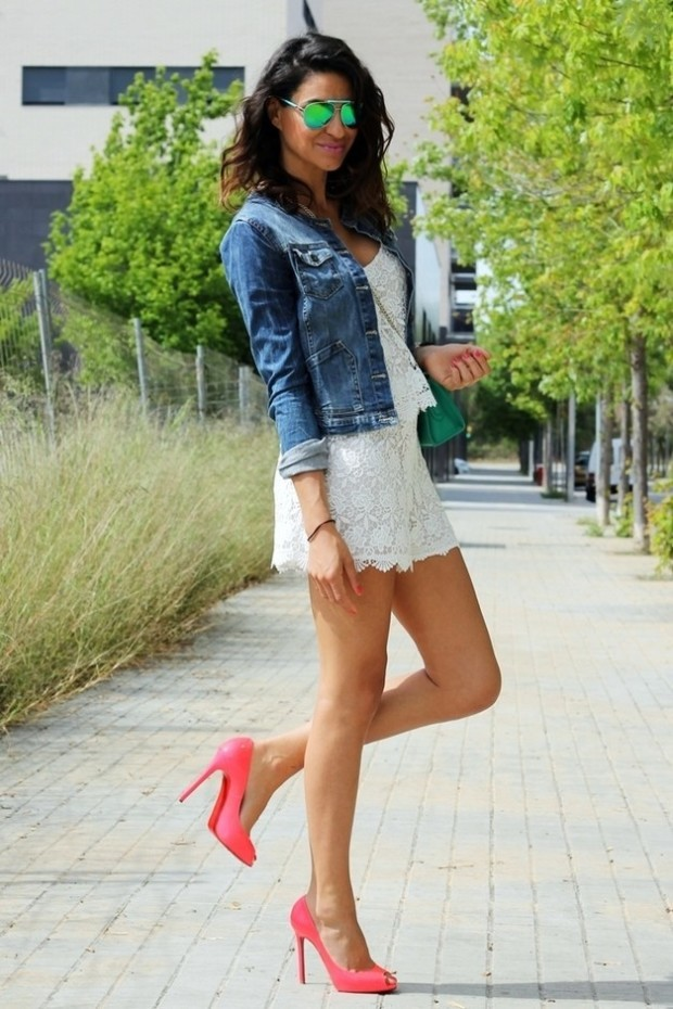 White-Dress-Outfit-Idea-with-a-Denim-Jacket