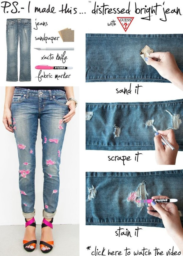 diy fashion projects for spring 1