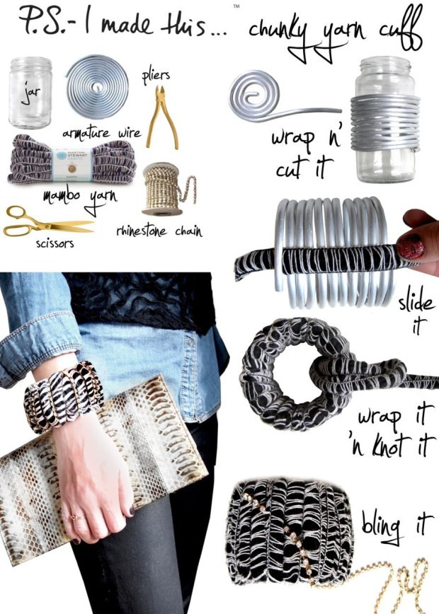 diy fashion projects for spring 2