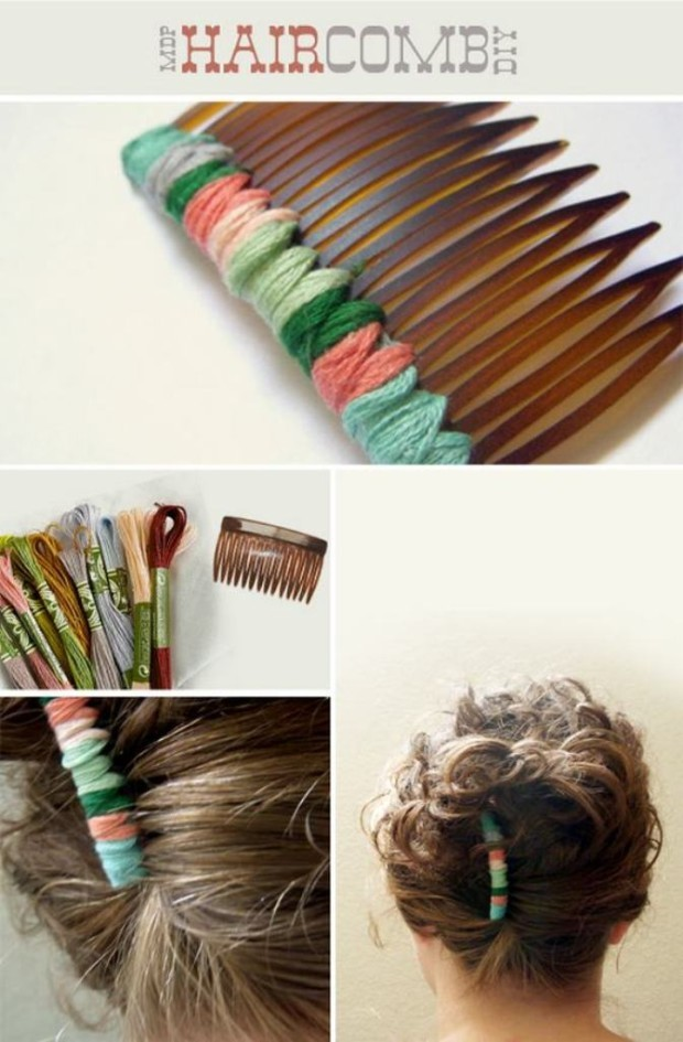 diy hair accessories