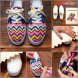 diy-neon-chevron-shoe-makeover