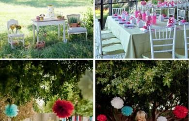diy outdoor wedding decorations 1