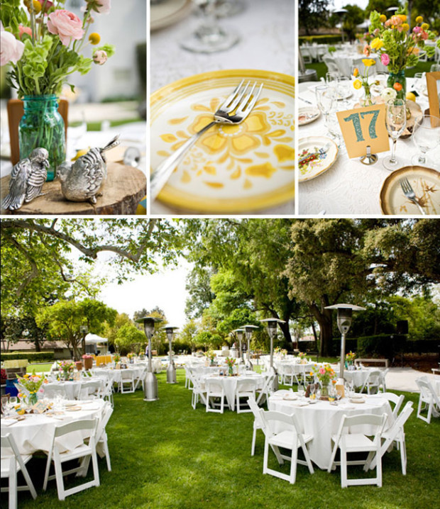 diy outdoor wedding decorations