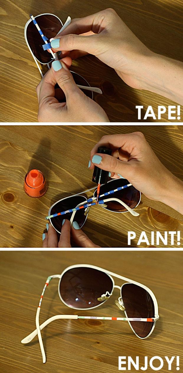 diy-painted-sunglasses