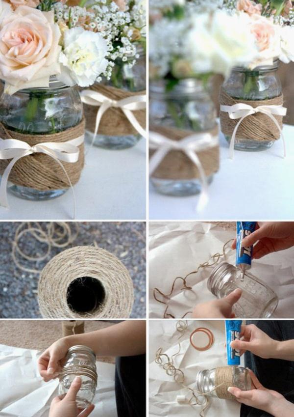 diy wedding decorations mason jars