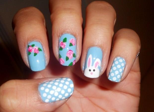 easter nail art 1