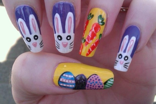 easter nail art 2