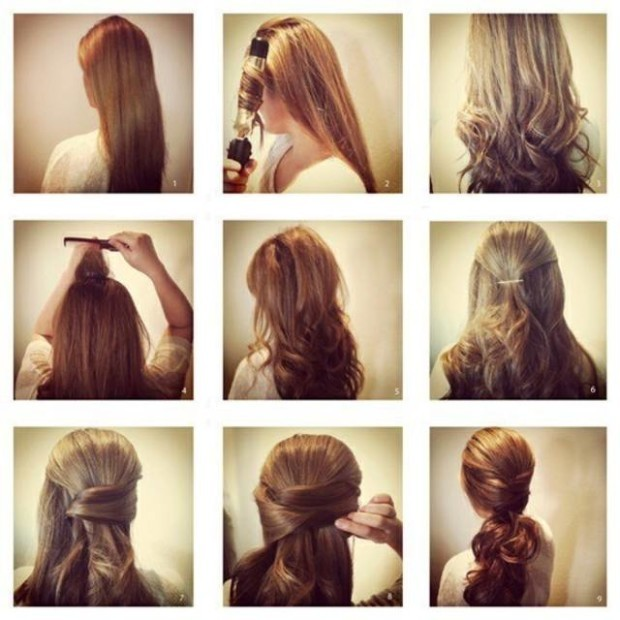 easy hairstyle tutorials for spring 2