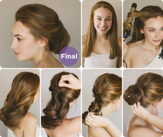easy hairstyle tutorials modern-twist
