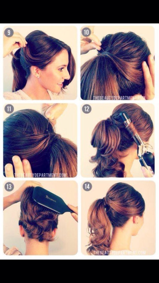how to make a ponytail