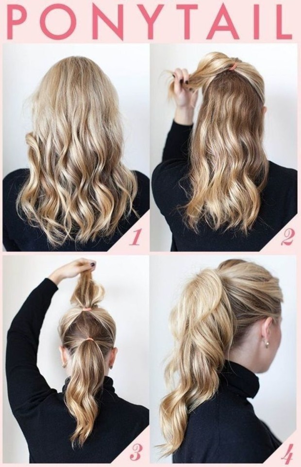 how to make a ponytail 3-fashionbeautynews