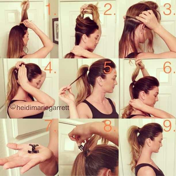 how to make a ponytail-fashionbeautynews