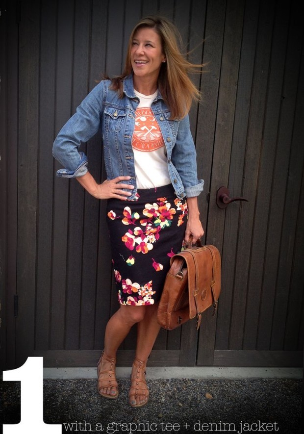 how to wear a pencil skirt 2