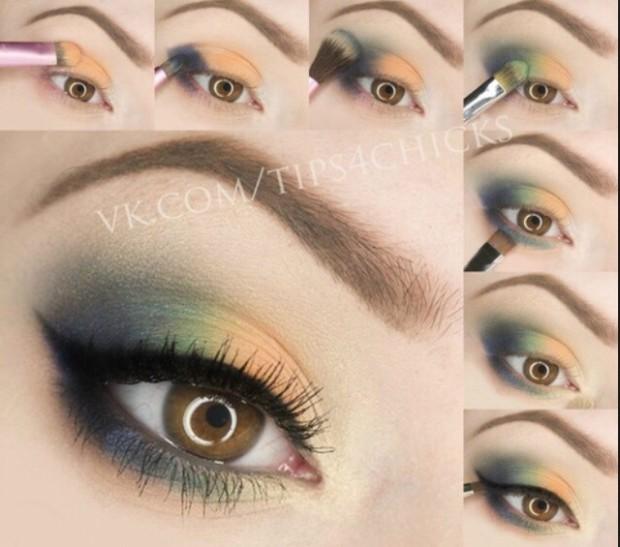 Как сделать зеленые глаза еще зеленее с помощью макияжа