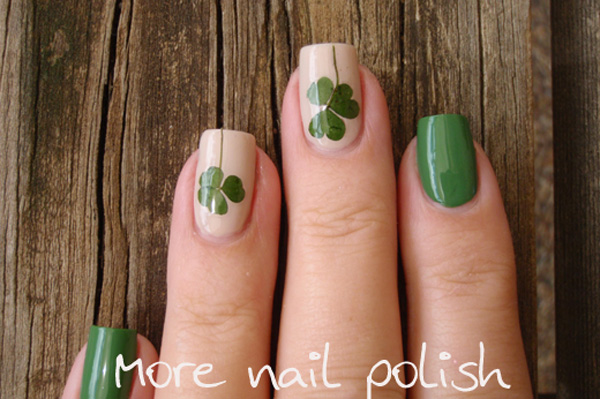 morenailpolish-pressed-clover