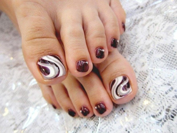 pedicure-nail-art-designs-for-fall-nail-design-ideas . Sea Spa Pedicure