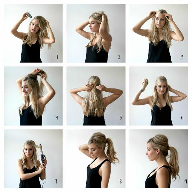Marvelous How To Make A Ponytail Short Hairstyles Gunalazisus