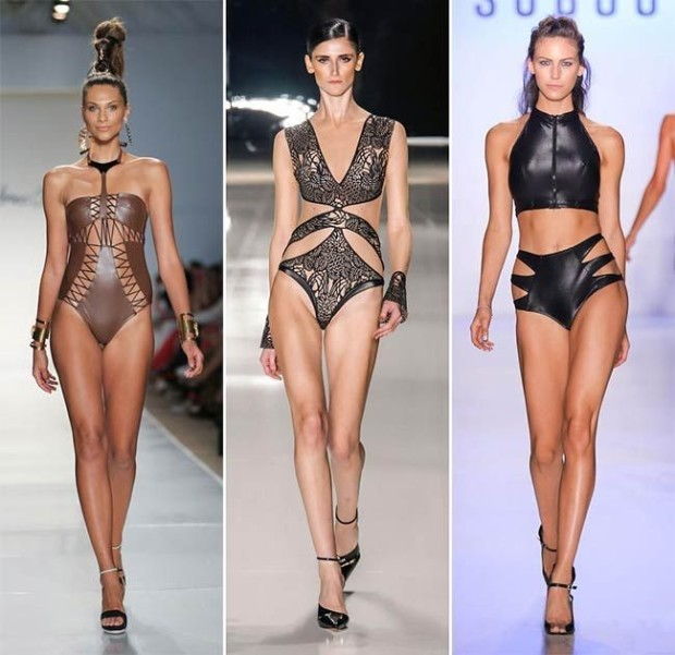 spring_summer_2015_swimwear_trends_leather_swimwear
