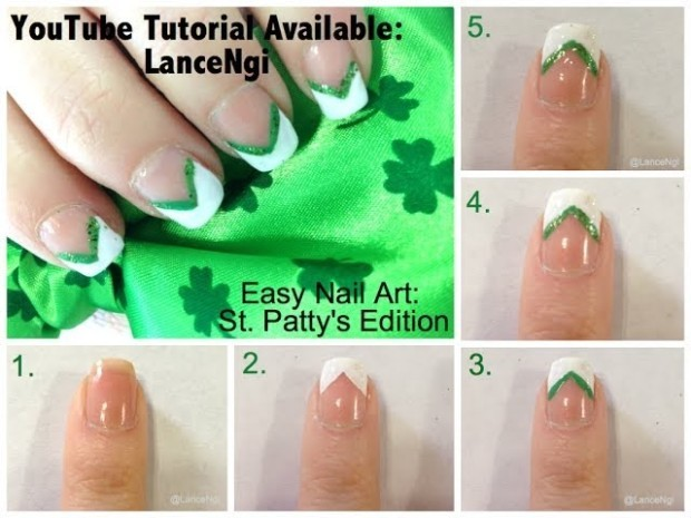 st patrick's day nail designs 2