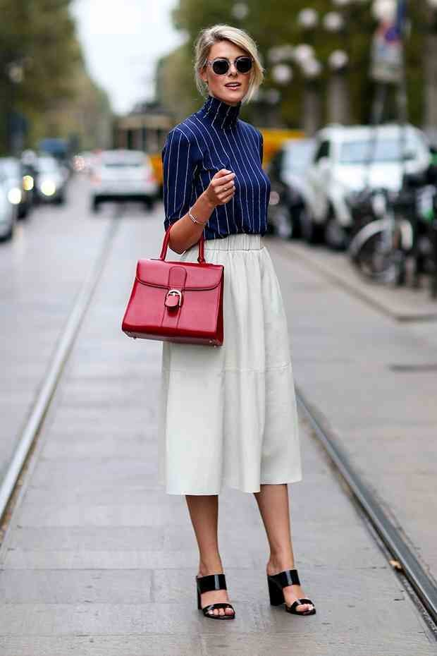 what to wear with a white skirt 1