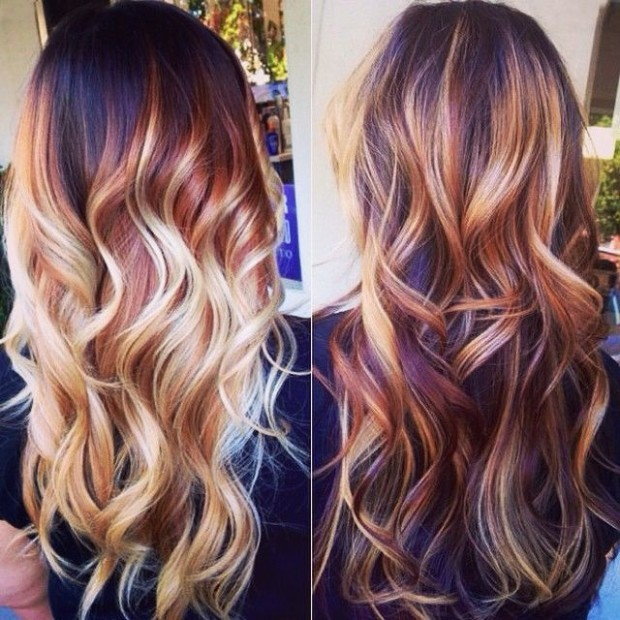 2015 Balayage Hair Color Trend