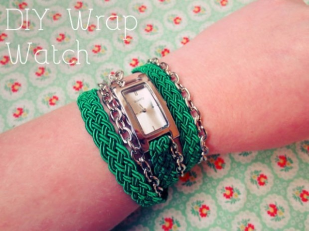 DIY Watch Wrap Bracelet 1