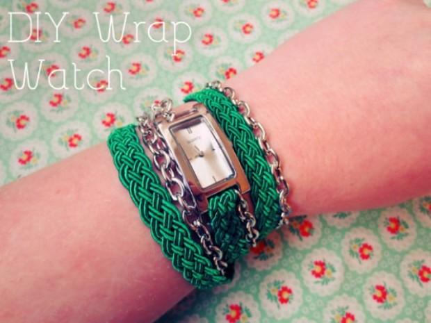Как сделать ремешок для часов из ткани своими руками 95