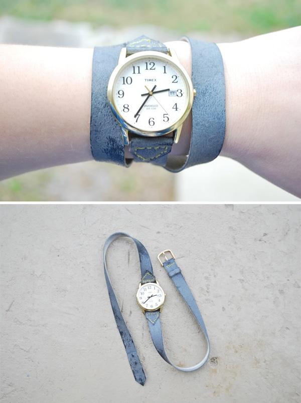 DIY Watch Wrap Bracelet 2
