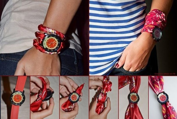 DIY Watch Wrap Bracelet