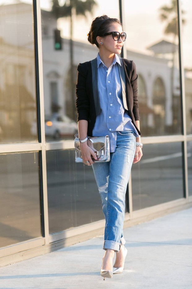 Stylish Outfits With Denim