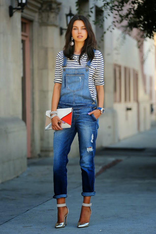 Denim overall - Top 5 Must Haves Things for Spring Wardrobe