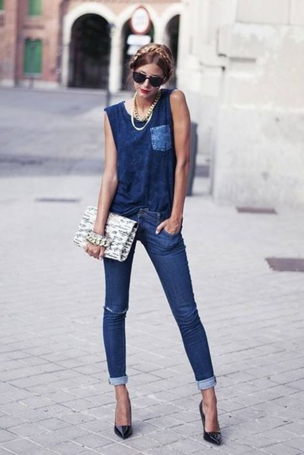 fashionbeauty news outfits denim 1
