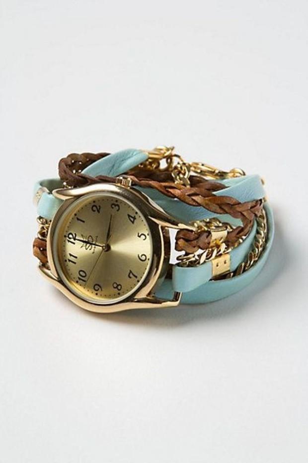 how to make a watch wrap bracelet