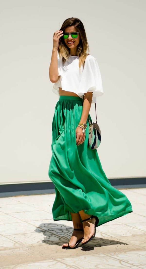 how to wear a maxi skirt 4