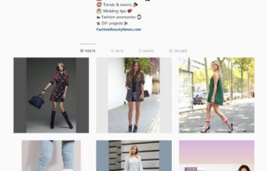 Follow Fashion Beauty News at Instagram!