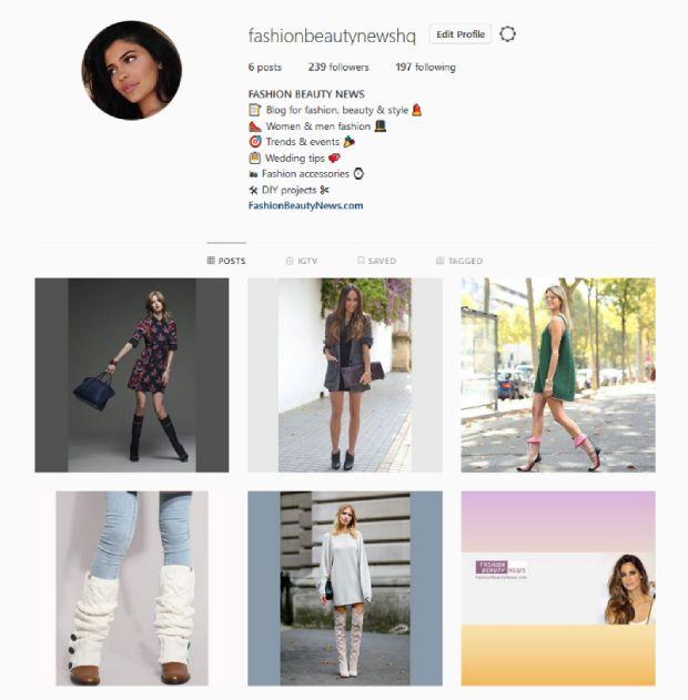 Follow Fashion Beauty News at Instagram!