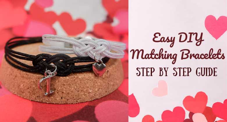 Easy DIY Matching Bracelets - Step by Step Guide